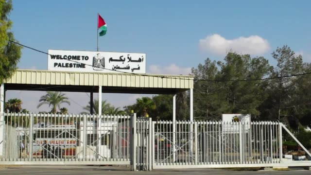gvs from the gaza strip where hamas recently came into power and the conflict with israel burns strong - israel palestine conflict stock videos and b-roll footage