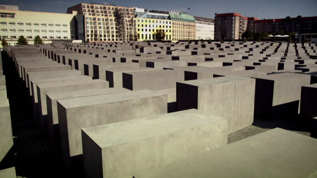 gvs holocaust memorial in berlin - crime and murder stock videos & royalty-free footage