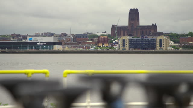gvs liverpool and birkenhead, uk - general view stock videos & royalty-free footage