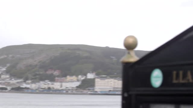 gvs llandudno, wales - capital letter stock videos & royalty-free footage