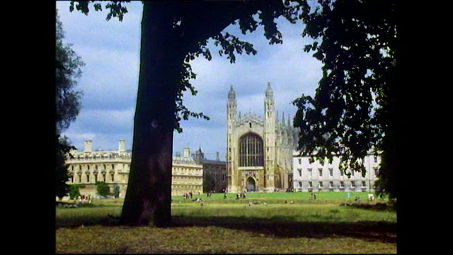 gvs of cambridge, uk in 1972 - english culture stock videos & royalty-free footage