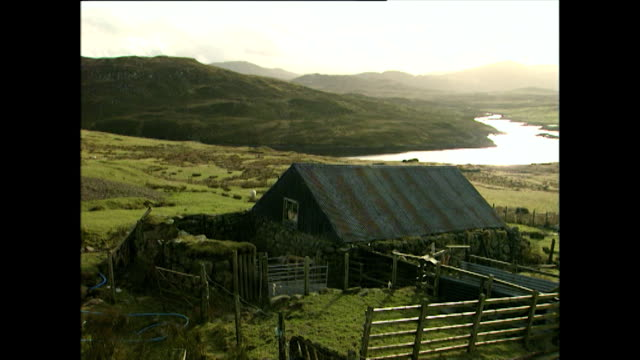 gvs of the isle of harris in scotland; 1996 - remote location stock videos & royalty-free footage