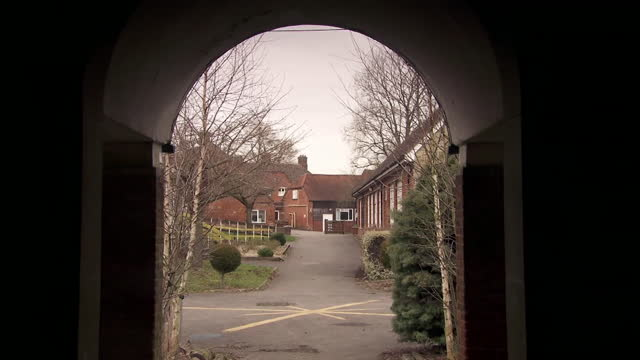 gvs of treloar's college in alton, hampshire, involved in the blood scandal in the 1970's and 80's where children with haemophilia were treated with... - b roll stock videos & royalty-free footage