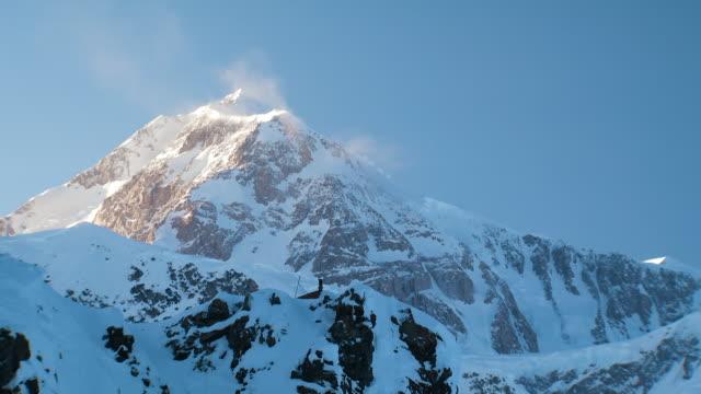 gvs ruth glacier in alaska - ice stock videos & royalty-free footage