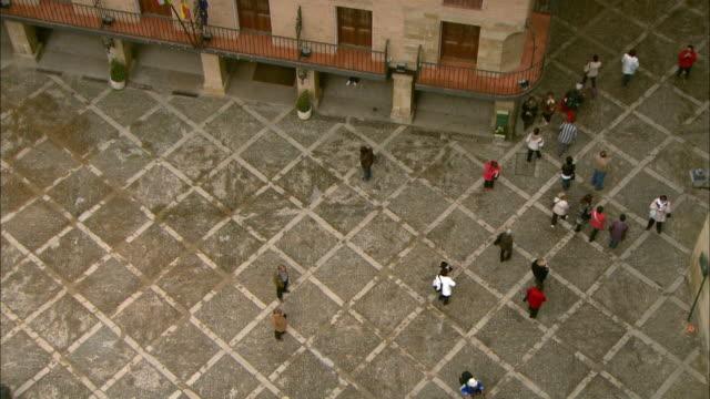 gvs santo domingo de la calzada, spain - spanish culture stock videos & royalty-free footage