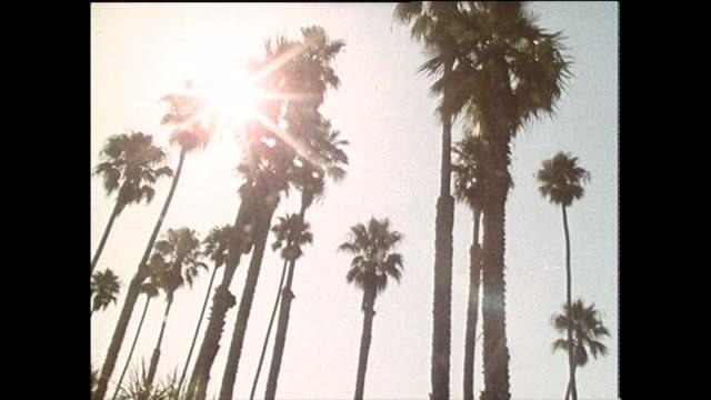 gvs sequence of santa barbara, california; 1986 - サンタバーバラ点の映像素材/bロール