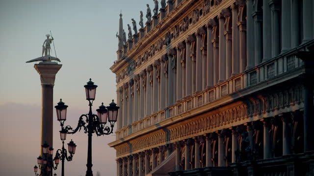 gvs st marks square, venice - italian culture stock videos & royalty-free footage