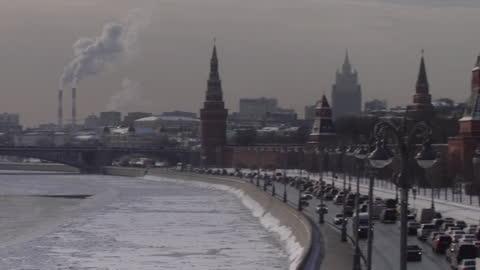 vidéos et rushes de gvs the kremlin - moscow russia