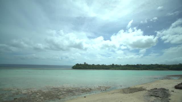 gvs vanuatu coastline - south pacific ocean stock videos & royalty-free footage
