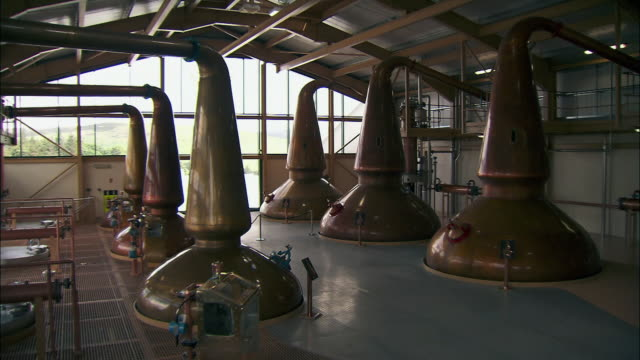 gvs whisky distillery, scotland - scottish culture stock videos & royalty-free footage