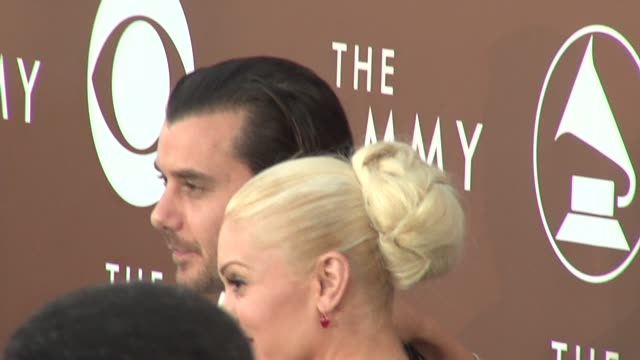 Gwen Stefani and Gavin Rossdale at the 2006 Grammy Awards arrivals at the Staples Center in Los Angeles California on February 8 2006