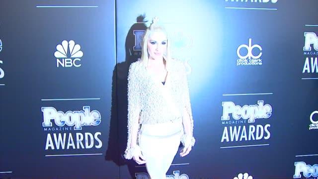 Gwen Stefani at PEOPLE Magazine Awards in Los Angeles CA