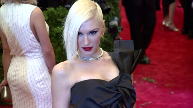 Gwen Stefani at PUNK Chaos To Couture Costume Institute Gala at Metropolitan Museum of Art on May 06 2013 in New York New York