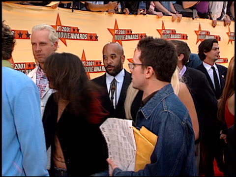 Gwen Stefani at the 2001 MTV Movie Awards entrances at the Shrine Auditorium in Los Angeles California on June 2 2001