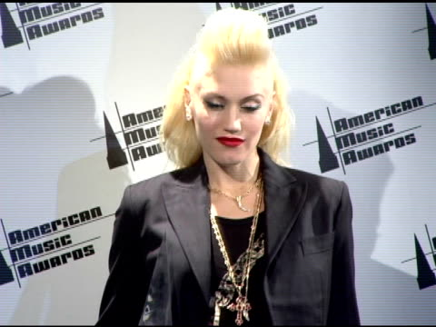 Gwen Stefani at the 2005 American Music Awards press room at the Shrine Auditorium in Los Angeles California on November 22 2005