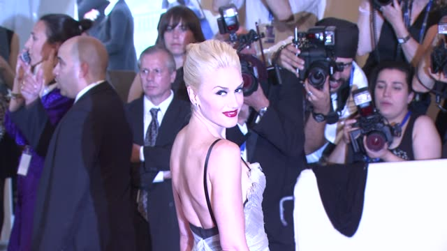 Gwen Stefani at the 'American Woman Fashioning A National Identity' Met Gala Arrivals at New York NY