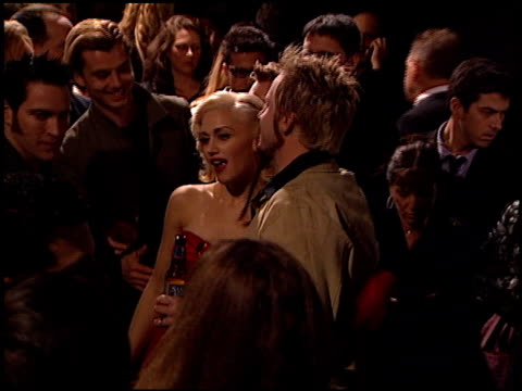 gwen stefani at the bmg grammy awards party at miracle mile wilshire in los angeles, california on february 21, 2001. - 奇跡点の映像素材/bロール