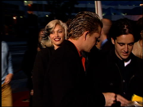 Gwen Stefani at the 'Go' Premiere at the Cinerama Dome at ArcLight Cinemas in Hollywood California on April 7 1999