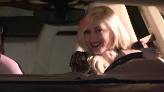 Gwen Stefani departs Chateau Marmont in West Hollywood 06/10/13