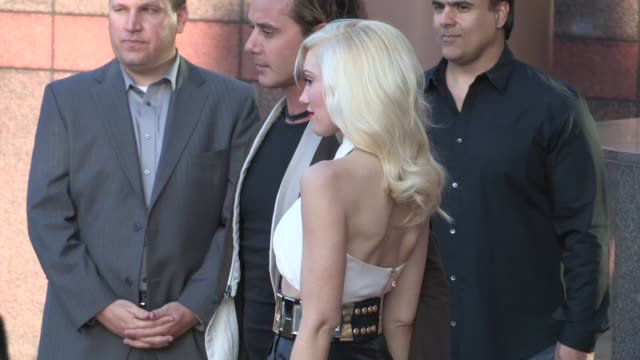 Gwen Stefani Gavin Rossdale arrive at The Bling Ring Premiere in Los Angeles 06/04/13
