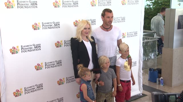 Gwen Stefani Gavin Rossdale at Elizabeth Glaser Pediatric AIDS Foundation's 24th Annual A Time For Heroes Event on 6/2/13 in Los Angeles CA