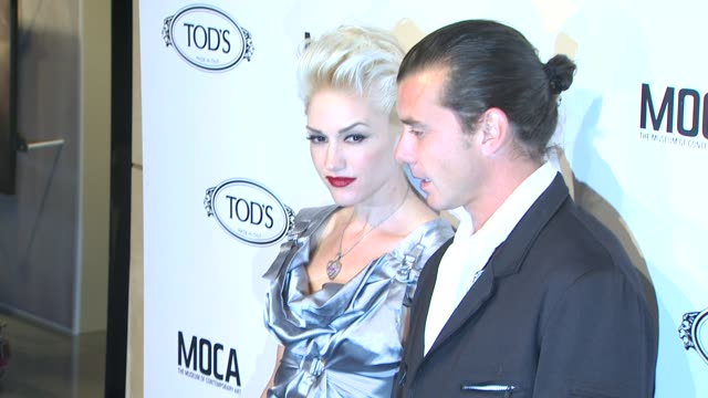 Gwen Stefani Gavin Rossdale at the Diego Della Valle Celebrates Tod's Boutique And MOCA's Jeffrey Deitch at Beverly Hills CA