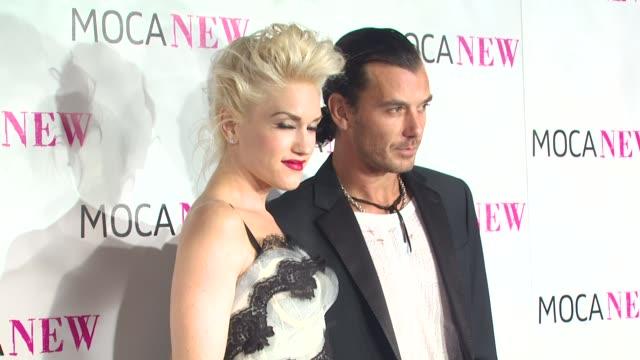 Gwen Stefani Gavin Rossdale at the MOCA NEW 30th Anniversary Gala at Los Angeles CA