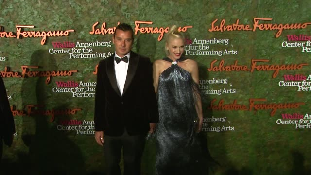 Gwen Stefani Gavin Rossdale at Wallis Annenberg Center For The Performing Arts Inaugural Gala Presented By Salvatore Ferragamo on 8/17/13 in Los...
