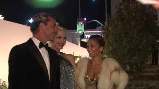Gwen Stefani Gavin Rossdale Nicole Richie at Wallis Annenberg Center For The Performing Arts Inaugural Gala Presented By Salvatore Ferragamo on...