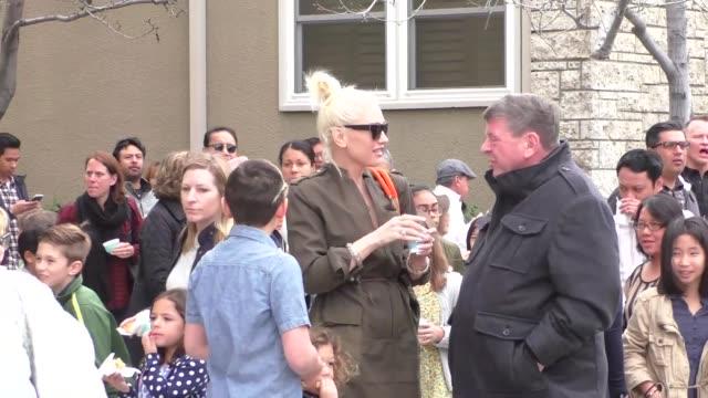Gwen Stefani leaves church in Silverlake in Celebrity Sightings in Los Angeles