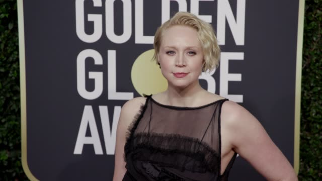 Gwendoline Christie at the 75th Annual Golden Globe Awards at The Beverly Hilton Hotel on January 07 2018 in Beverly Hills California