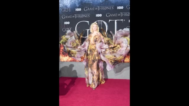 Gwendoline Christie Game Of Thrones Season 8 Premiere on April 3 2019 in New York City