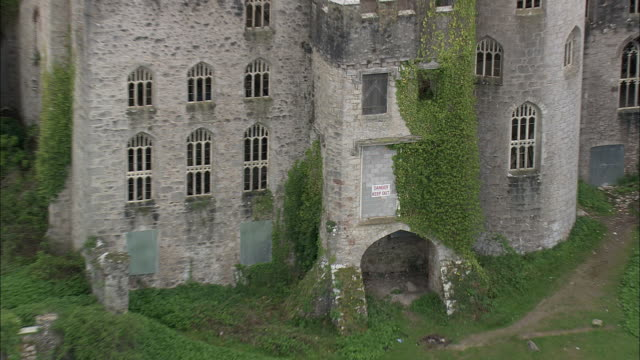 gwrych castle - castle stock videos & royalty-free footage