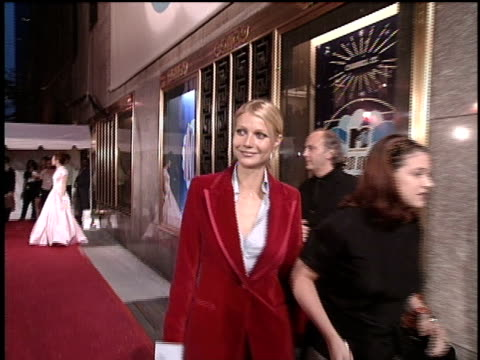 gwyneth paltrow arriving at the 1996 video music awards - gwyneth paltrow stock videos and b-roll footage