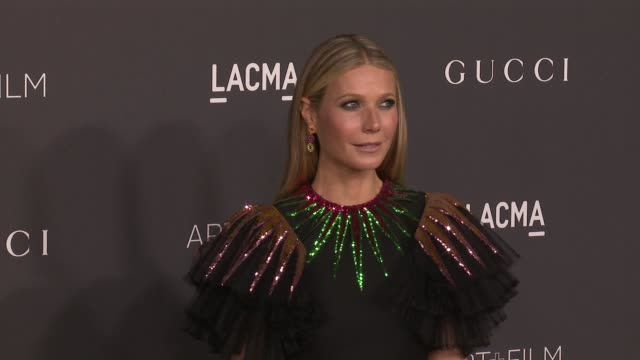 Gwyneth Paltrow at 2016 LACMA Art Film Gala Honoring Robert Irwin And Kathryn Bigelow Presented By Gucci at LACMA on October 29 2016 in Los Angeles...