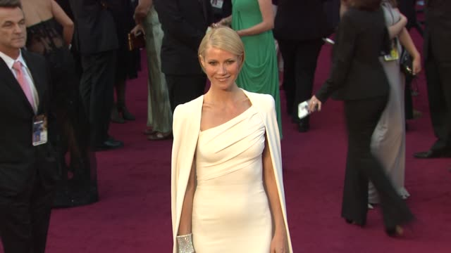Gwyneth Paltrow at 84th Annual Academy Awards Arrivals on 2/26/12 in Hollywood CA