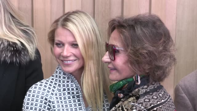 Gwyneth Paltrow at Chanel Haute Couture Fashion Show in Paris on January 26 2016 in Paris France