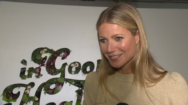 INTERVIEW Gwyneth Paltrow at GOOP Health Event on January 27 2018 in New York City