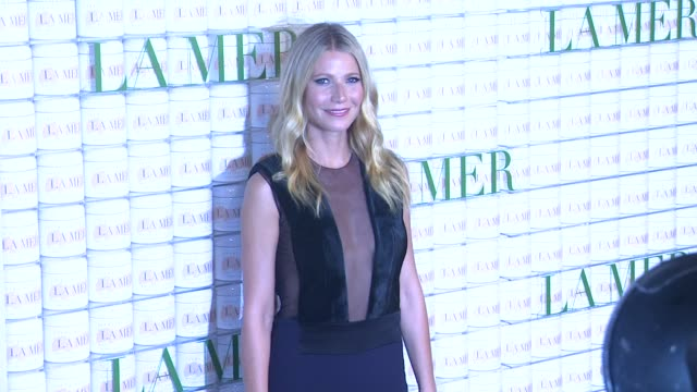 gwyneth paltrow at la mer celebrates 50 years of an icon at siren studios on october 13 2015 in hollywood california - gwyneth paltrow stock videos and b-roll footage