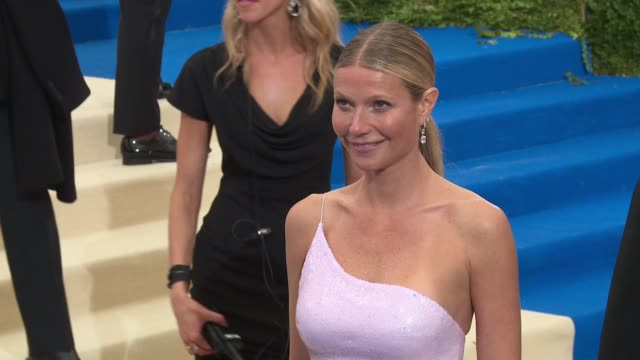 Gwyneth Paltrow at Rei Kawakubo/Comme des Garcons Art Of The InBetween Costume Institute Gala Arrivals at The Metropolitan Museum of Art on May 01...