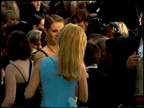 gwyneth paltrow at the 2002 academy awards at the kodak theatre in hollywood california on march 24 2002 - 2002 stock-videos und b-roll-filmmaterial