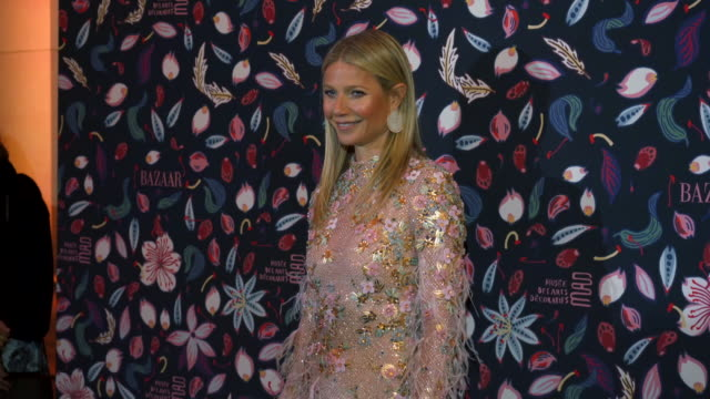gwyneth paltrow at the harper's bazaar exhibtion at musee des arts decoratifs in paris at musee des arts decoratifs on february 26 2020 in paris... - gwyneth paltrow stock videos & royalty-free footage