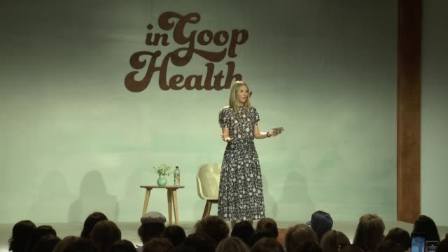 SPEECH Gwyneth Paltrow at the In goop Health Summit at 3LABS on June 09 2018 in Culver City California