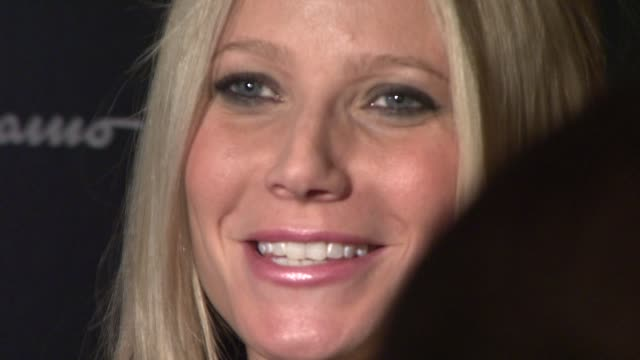 gwyneth paltrow at the magnolia pictures and the cinema society present premiere of two lovers at new york ny. - 2009 stock videos & royalty-free footage