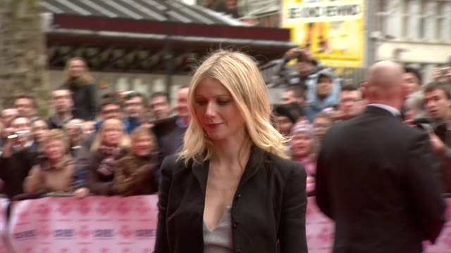 Gwyneth Paltrow at the The Prince's Trust Success Awards at the Odeon Leicester Square in London on March 18 2008