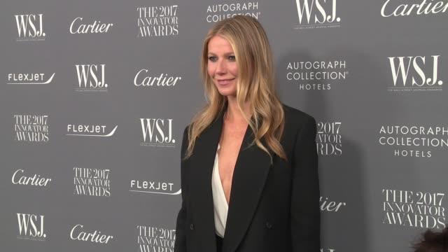 Gwyneth Paltrow at WSJ Magazine 2017 Innovator Awards at MOMA on November 1 2017 in New York City
