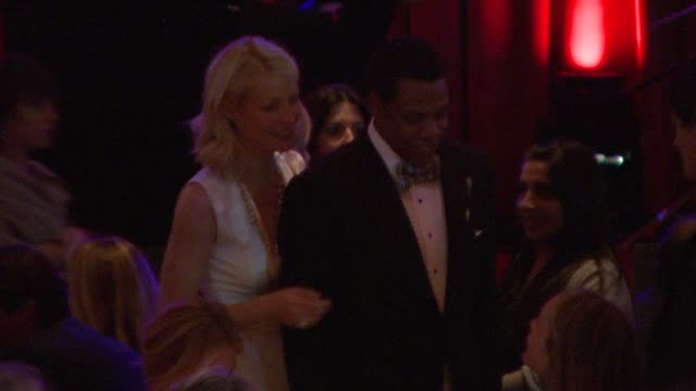 gwyneth paltrow, jay-z at the saks fifth avenue's 'an unforgettable evening' at los angeles ca. - 2009 stock videos & royalty-free footage