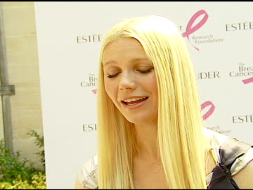 gwyneth paltrow on how she became involved with estee lauder and balancing motherhood and her career at the luncheon hosted by aerin lauder in honor... - aerin lauder stock videos & royalty-free footage