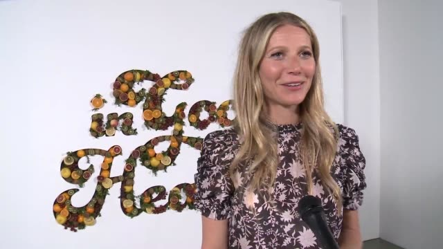 INTERVIEW Gwyneth Paltrow on the goop Health Summit and future of the company at the In goop Health Summit at 3LABS on June 09 2018 in Culver City...
