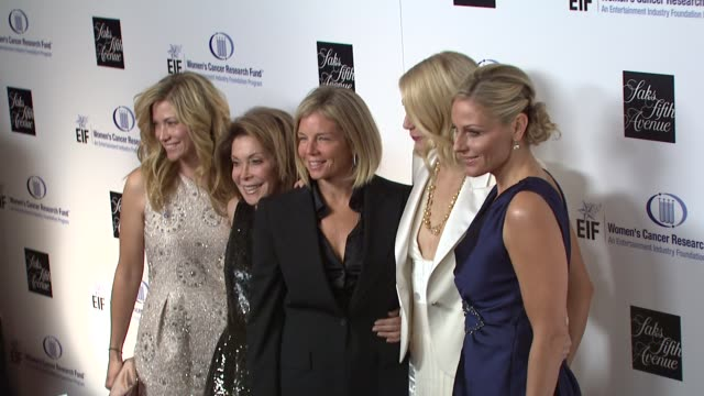 gwyneth paltrow with foundation members quinn ezralow marion laurie at the saks fifth avenue's 'an unforgettable evening' at los angeles ca - gwyneth paltrow stock videos and b-roll footage